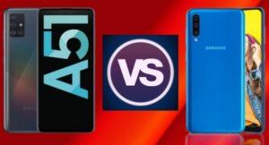 Read more about the article Сравнение Samsung Galaxy A51 и Galaxy A50: что изменилось?