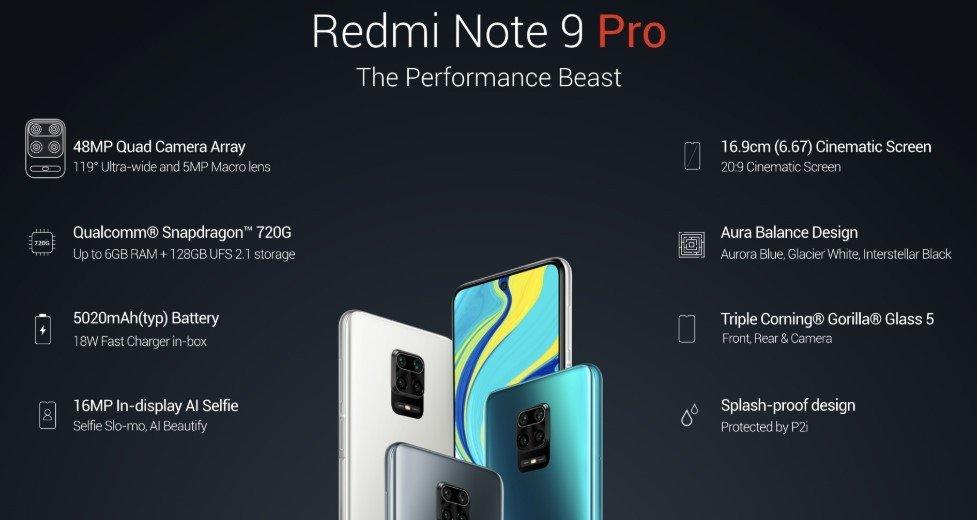 Все, что вы должны знать о Xiaomi Redmi Note 9 Pro