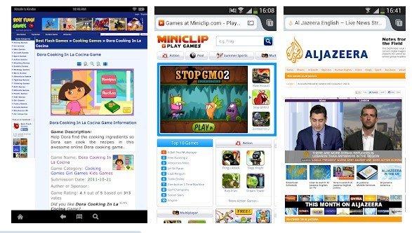 4 лучших Flash браузера для Android