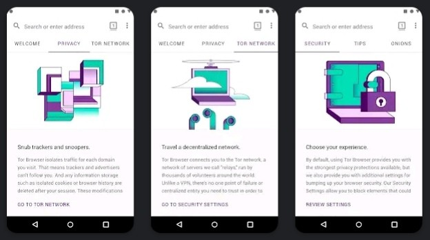 Три лучших безопасных браузера для Android