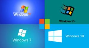 Read more about the article Все версии Windows за всю историю компании Microsoft