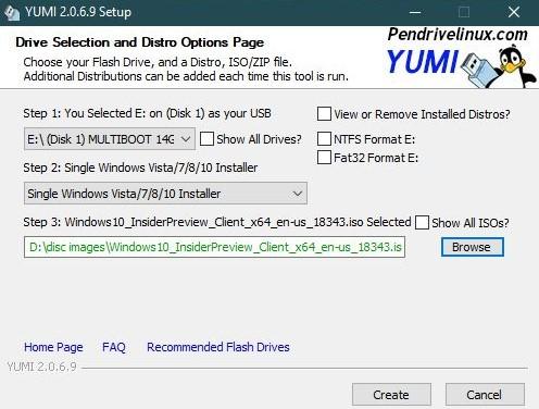 Как создать мультизагрузочную флешку на Windows 10
