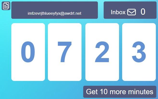Лучшие сервисы для создания временной электронной почты