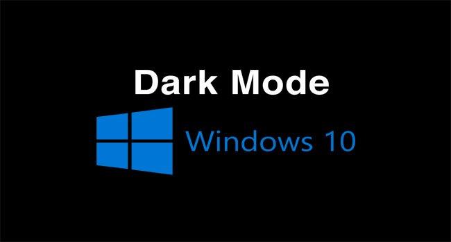 Как включить темный режим на компьютере с Windows 10