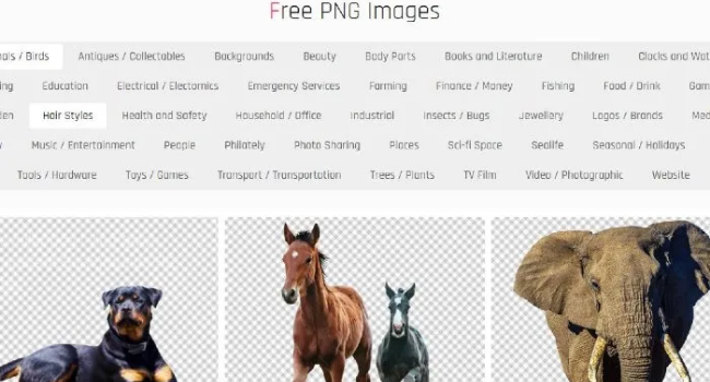 Лучшие сайты для поиска изображений с прозрачным фоном