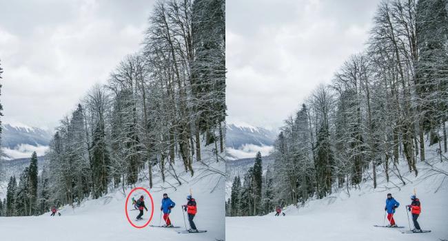 Как удалить людей или объекты на фотографиях, с помощью телефона Xiaomi