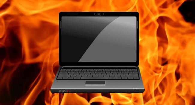 Негативные последствия перегрева ноутбука